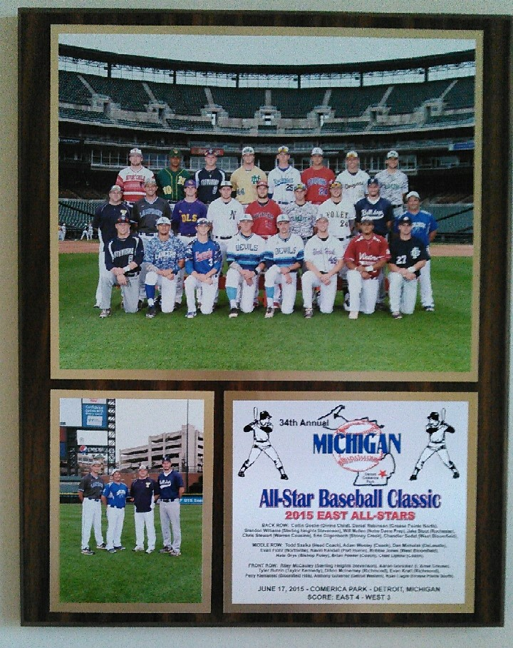 2015 All Star Game plaque