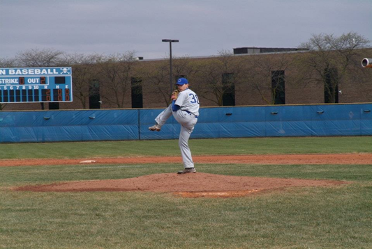 Baseball picture about to pitch